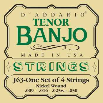 D´addario EJ63 Tenor Banjo cuerdas para banjo